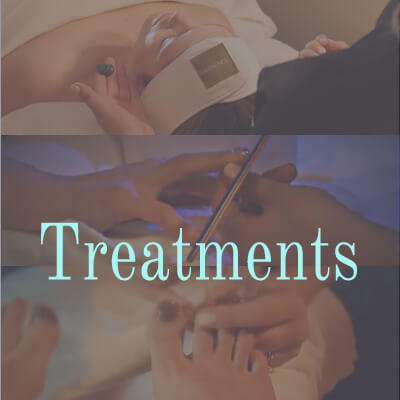 Luxurious treatments for your face, hands, feet and the rest of your body.