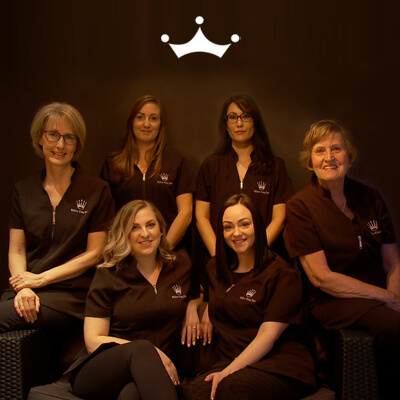 Staff at Willow King Spa Oak Bay