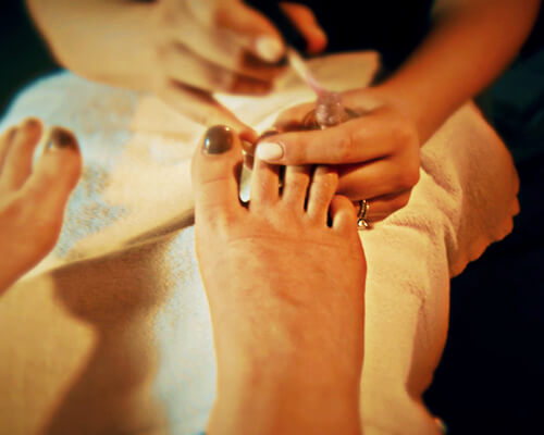 Pedicures at Willow King Spa in Oak Bay